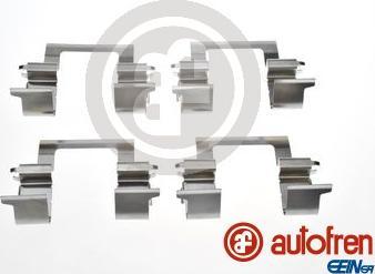 AUTOFREN SEINSA D42983A - Комплектующие, колодки дискового тормоза avtokuzovplus.com.ua