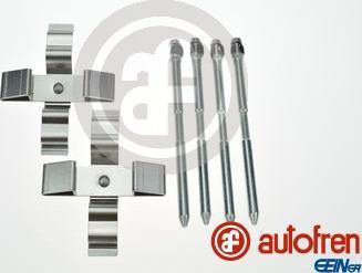 AUTOFREN SEINSA D42984A - Комплектующие, колодки дискового тормоза avtokuzovplus.com.ua