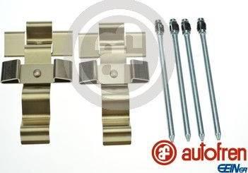 AUTOFREN SEINSA D42989A - Комплектующие, колодки дискового тормоза avtokuzovplus.com.ua