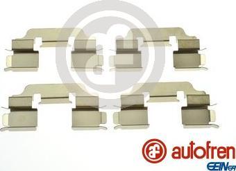 AUTOFREN SEINSA D42991A - Комплектующие, колодки дискового тормоза autodnr.net