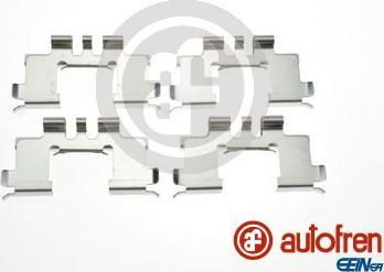 AUTOFREN SEINSA D42997A - Комплектующие, колодки дискового тормоза avtokuzovplus.com.ua
