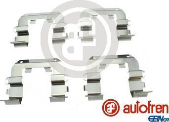 AUTOFREN SEINSA D43003A - Комплектующие, колодки дискового тормоза avtokuzovplus.com.ua