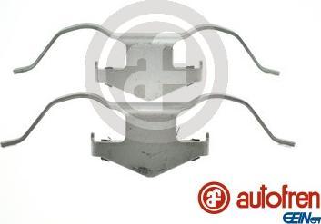 AUTOFREN SEINSA D43012A - Комплектующие, колодки дискового тормоза avtokuzovplus.com.ua