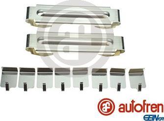 AUTOFREN SEINSA D43026A - Комплектующие, колодки дискового тормоза avtokuzovplus.com.ua
