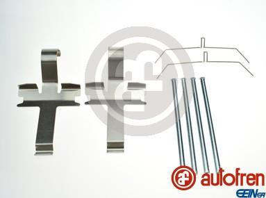 AUTOFREN SEINSA D43029A - Комплектующие, колодки дискового тормоза avtokuzovplus.com.ua