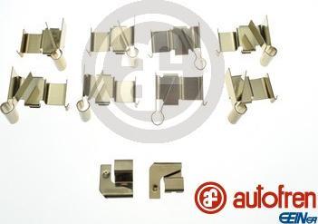 AUTOFREN SEINSA D43030A - Комплектующие, колодки дискового тормоза avtokuzovplus.com.ua