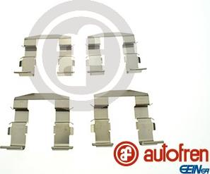 AUTOFREN SEINSA D43037A - Комплектующие, колодки дискового тормоза avtokuzovplus.com.ua