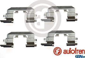 AUTOFREN SEINSA D43076A - Комплектующие, колодки дискового тормоза autodnr.net
