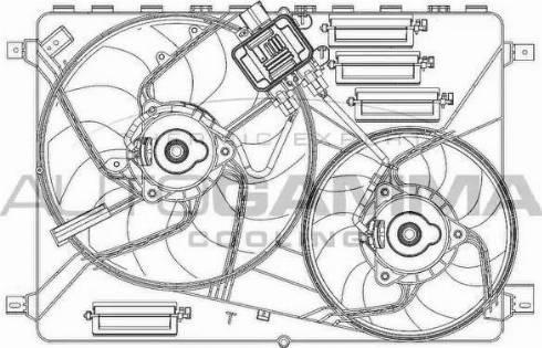 Autogamma GA200961 - Вентилятор, охлаждение двигателя car-mod.com