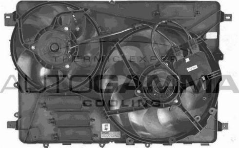 Autogamma GA229005 - Вентилятор, охлаждение двигателя car-mod.com