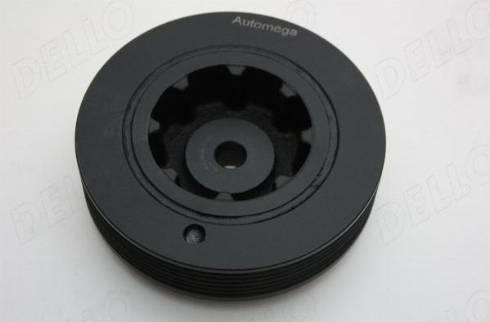 Automega 130081010 - Ременный шкив, коленчатый вал autodnr.net