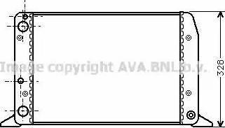 Ava Quality Cooling AIA2028 - Радиатор, охлаждение двигателя avtokuzovplus.com.ua