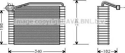 Ava Quality Cooling aiv142 - Испаритель, кондиционер autodnr.net
