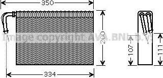 Ava Quality Cooling bwv305 - Испаритель, кондиционер autodnr.net