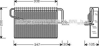 Ava Quality Cooling msv329 - Испаритель, кондиционер autodnr.net