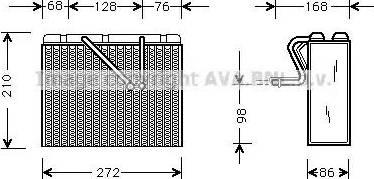 Ava Quality Cooling olv300 - Испаритель, кондиционер autodnr.net