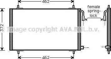 Ava Quality Cooling pe5191 - Конденсатор, кондиционер autodnr.net