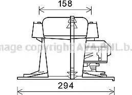 Ava Quality Cooling RT8521 - Электродвигатель, вентиляция салона car-mod.com