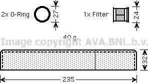 Ava Quality Cooling tod349 - Осушитель, кондиционер autodnr.net