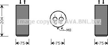Ava Quality Cooling vnd053 - Осушитель, кондиционер autodnr.net