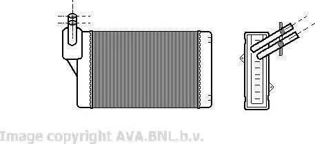 Febi Bilstein 11089 - Теплообменник, отопление салона car-mod.com