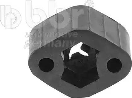 BBR Automotive 001-10-17026 - Монтажний комплект, система випуску autocars.com.ua