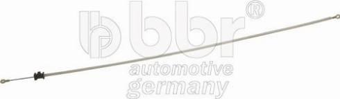 BBR Automotive 001-10-22747 - Тросик заслонки отопителя car-mod.com