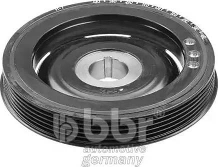 BBR Automotive 001-30-12992 - Ремінний шків, колінчастий вал autocars.com.ua