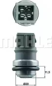 Behr TSE 31 - Датчик, температура охлаждающей жидкости car-mod.com