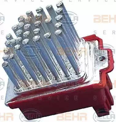 BEHR HELLA Service 5HL 351 321-591 - Регулятор, вентилятор салона car-mod.com
