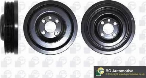 BGA DP0678 - Ремінний шків, колінчастий вал autocars.com.ua