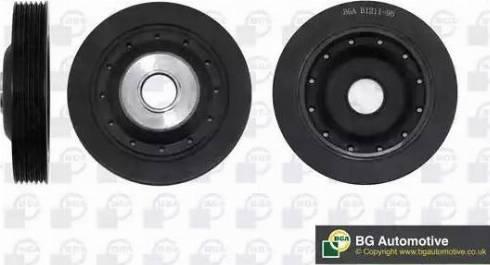 BGA DP1045 - Ремінний шків, колінчастий вал autocars.com.ua