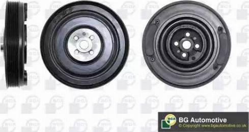 BGA DP2976 - Ремінний шків, колінчастий вал autocars.com.ua