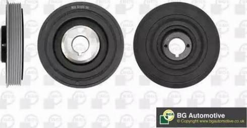 BGA DP3150 - Ремінний шків, колінчастий вал autocars.com.ua