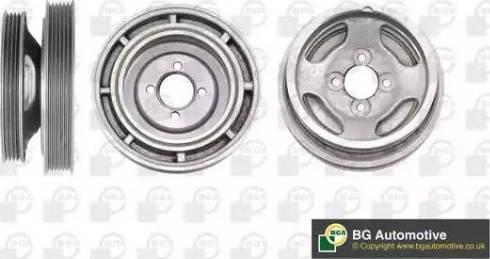 BGA DP4103 - Ремінний шків, колінчастий вал autocars.com.ua
