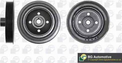 BGA DP5114 - Ремінний шків, колінчастий вал autocars.com.ua