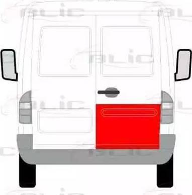 BLIC 6016-00-3546152P - Обшивка двери car-mod.com