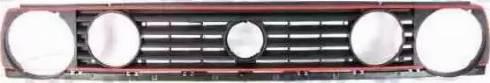 BLIC 6502-07-9521996P - Решітка радіатора autocars.com.ua