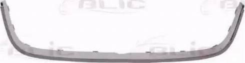 BLIC 6502-07-9568997P - Рамка, облицювання радіатора autocars.com.ua