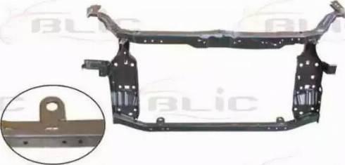 BLIC 6502-08-1617200P - Облицювання передка autocars.com.ua