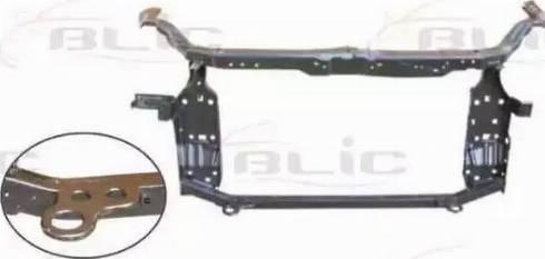BLIC 6502-08-1617201P - Облицювання передка autocars.com.ua