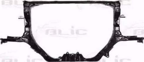 BLIC 6502-08-2957201P - Облицювання передка autocars.com.ua