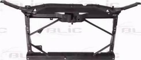 BLIC 6502-08-3451200P - Облицювання передка autocars.com.ua