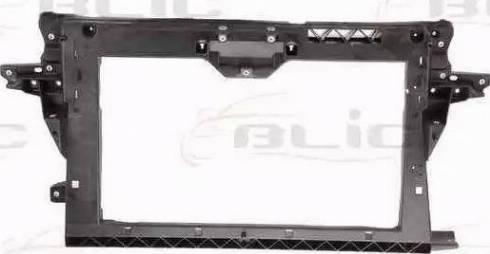 BLIC 6502-08-3711200P - Облицювання передка autocars.com.ua