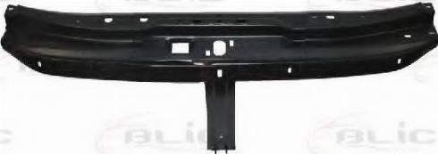 BLIC 6502-08-5088270P - Облицювання передка autocars.com.ua