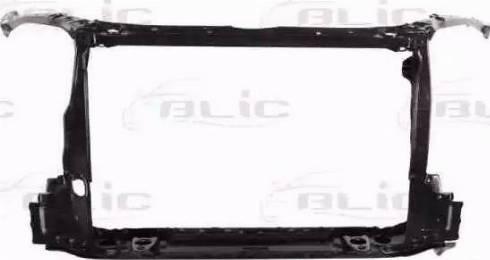 BLIC 6502-08-8179202P - Облицювання передка autocars.com.ua