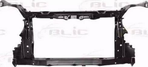 BLIC 6502-08-8198200P - Облицювання передка autocars.com.ua