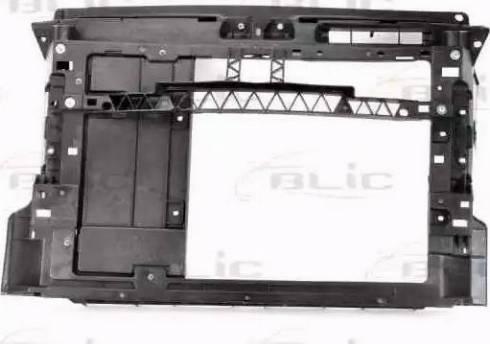 BLIC 6502-08-9507200P - Облицювання передка autocars.com.ua