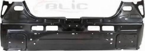 BLIC 6503-05-5052651P - Задня стінка autocars.com.ua