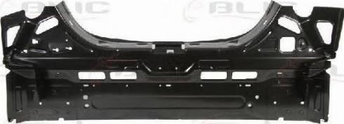 BLIC 6503-05-5052653P - Задня стінка autocars.com.ua